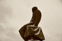 Μνημείο σε Dostoevsky στη Μόσχα, Ρωσία Στοκ εικόνα με δικαίωμα ελεύθερης χρήσης