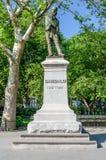 Μνημείο σε Garibaldi, Νέα Υόρκη Στοκ Φωτογραφίες