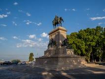 Μνημείο σε Garibaldi, Ρώμη, Ιταλία στοκ φωτογραφία