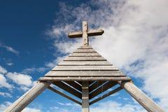 Μνημείο σε Gerlitzen Apls στην Αυστρία Στοκ Εικόνες