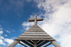 Μνημείο σε Gerlitzen Apls στην Αυστρία Στοκ Φωτογραφίες