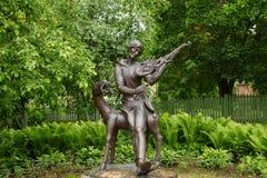 Μνημείο σε Mark Chagall Στοκ εικόνα με δικαίωμα ελεύθερης χρήσης