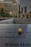 9-11 μνημείο σε NYC - ExplorationVacation καθαρός Στοκ Εικόνες