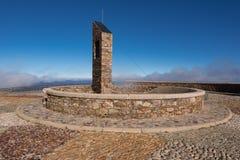 Μνημείο σε Pena το Francia, διάσημος προορισμός σε Σαλαμάνκα, Ισπανία στοκ φωτογραφία με δικαίωμα ελεύθερης χρήσης