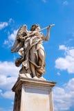 Μνημείο σε Ponte Sant& x27 Angelo στη Ρώμη Στοκ Φωτογραφία