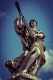 Μνημείο σε Ponte Sant& x27 Angelo στη Ρώμη Στοκ φωτογραφίες με δικαίωμα ελεύθερης χρήσης