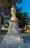 Μνημείο σε Schulenburg, πόλη της Κέρκυρας Στοκ φωτογραφία με δικαίωμα ελεύθερης χρήσης