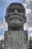 Μνημείο σε Ulyanov Λένιν στη Ρωσία η πόλη του Ουλάν Ουντέ Στοκ Εικόνες