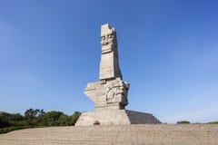 Μνημείο σε Westerplatte στο Γντανσκ Στοκ φωτογραφίες με δικαίωμα ελεύθερης χρήσης