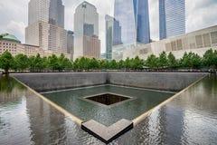 Μνημείο σημείο μηδέν του World Trade Center στοκ φωτογραφία με δικαίωμα ελεύθερης χρήσης