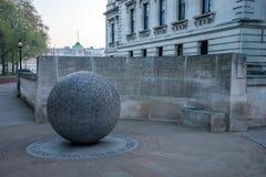 Μνημείο στα 202 αθώα θύματα μιας τρομοκρατικής επίθεσης σε Kuta στο Μπαλί, Ινδονησία το 2002, Λονδίνο στοκ φωτογραφίες
