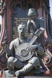 Μνημείο στην αυτοκράτειρα Catherine ΙΙ Στοκ εικόνα με δικαίωμα ελεύθερης χρήσης