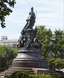 Μνημείο στην αυτοκράτειρα Catherine ο 2$ος Στοκ Εικόνες