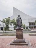 Μνημείο στην αυτοκράτειρα Elizabeth (πίσω άποψη) Στοκ φωτογραφία με δικαίωμα ελεύθερης χρήσης