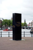 Μνημείο στην εβραϊκή αντίσταση Στοκ φωτογραφία με δικαίωμα ελεύθερης χρήσης