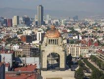 Μνημείο στην επανάσταση, Tabacalera, πρωτεύουσα του Μεξικού κεντρικός στοκ εικόνα
