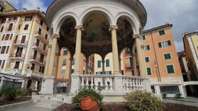 Μνημείο στην ιταλική οδό απόθεμα βίντεο