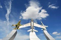 Μνημείο στην Πολεμική Αεροπορία Ταϊλανδός Στοκ φωτογραφίες με δικαίωμα ελεύθερης χρήσης