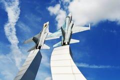 Μνημείο στην Πολεμική Αεροπορία Ταϊλανδός Στοκ Εικόνα