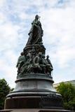 Μνημείο στη βασίλισσα Ekaterina και τις συμπάθειές της Στοκ Φωτογραφία