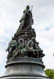 Μνημείο στη βασίλισσα Ekaterina και τις συμπάθειές της Στοκ φωτογραφίες με δικαίωμα ελεύθερης χρήσης