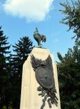Μνημείο στη γαλλική απώλεια πολέμου από τον πρώτο παγκόσμιο πόλεμο στη Ρουμανία Στοκ εικόνα με δικαίωμα ελεύθερης χρήσης