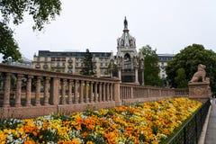 Μνημείο στη Γενεύη Στοκ φωτογραφίες με δικαίωμα ελεύθερης χρήσης
