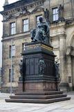 Μνημείο στη Δρέσδη στο Frederick Augustus Ι στοκ εικόνες με δικαίωμα ελεύθερης χρήσης