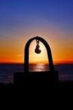 Μνημείο στη θάλασσα Στοκ εικόνες με δικαίωμα ελεύθερης χρήσης