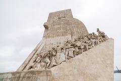 Μνημείο στις ανακαλύψεις Λισσαβώνα στοκ εικόνες