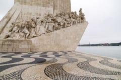 Μνημείο στις ανακαλύψεις Λισσαβώνα στοκ φωτογραφία