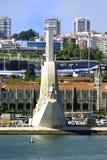Μνημείο στις ανακαλύψεις στην προκυμαία του Βηθλεέμ στοκ φωτογραφία με δικαίωμα ελεύθερης χρήσης