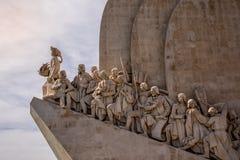 Μνημείο στις ανακαλύψεις στοκ φωτογραφία