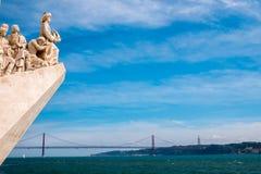 Μνημείο στις ανακαλύψεις στοκ εικόνα με δικαίωμα ελεύθερης χρήσης