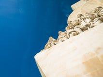 Μνημείο στις ανακαλύψεις του νέου κόσμου στο Βηθλεέμ, Λισσαβώνα, Πορτογαλία στοκ εικόνες