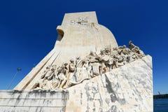Μνημείο στις ανακαλύψεις, Λισσαβώνα, Πορτογαλία στοκ εικόνα