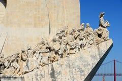 Μνημείο στις ανακαλύψεις, Λισσαβώνα, Πορτογαλία στοκ φωτογραφίες με δικαίωμα ελεύθερης χρήσης