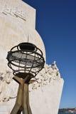 Μνημείο στις ανακαλύψεις Λισσαβώνα Πορτογαλία Στοκ Φωτογραφία