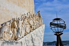 Μνημείο στις ανακαλύψεις, Λισσαβώνα στοκ εικόνα με δικαίωμα ελεύθερης χρήσης