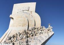 Μνημείο στις ανακαλύψεις στοκ εικόνες