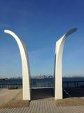 Μνημείο στις 11 Σεπτεμβρίου νησιών Staten Στοκ Εικόνες