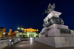 Μνημείο στον απελευθερωτή τσάρων, εθνικός καθεδρικός ναός συνελεύσεων και του Αλεξάνδρου Nevsky στη Sofia, Βουλγαρία Στοκ Εικόνες