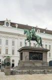 Μνημείο στον αυτοκράτορα Joseph ΙΙ, Βιέννη Στοκ φωτογραφία με δικαίωμα ελεύθερης χρήσης