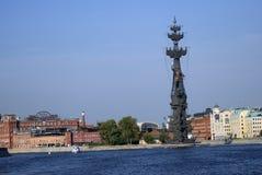 Μνημείο στον εορτασμό της 300ης επετείου του ρωσικού ναυτικού Στοκ Εικόνες