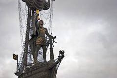 Μνημείο στον εορτασμό της 300ης επετείου του ρωσικού ναυτικού Στοκ φωτογραφία με δικαίωμα ελεύθερης χρήσης