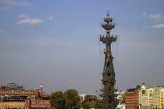 Μνημείο στον εορτασμό της 300ης επετείου του ρωσικού ναυτικού Στοκ Φωτογραφίες