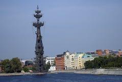 Μνημείο στον εορτασμό της 300ης επετείου του ρωσικού ναυτικού Στοκ Φωτογραφία