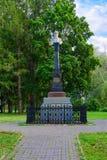 Μνημείο στον ιδρυτή της πόλης, πρίγκηπας Vasily Ι στο Hill καθεδρικών ναών, Ples, Ρωσία Στοκ Φωτογραφίες