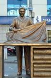 Μνημείο στον υφασματέμπορο ή τους βιοτέχνες στη Ιστανμπούλ Στοκ εικόνες με δικαίωμα ελεύθερης χρήσης