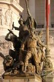 Μνημείο στους αρχαίους μαχητές μπροστά από το μνημείο Vittorio Emanuele ΙΙ, Ρώμη Στοκ φωτογραφία με δικαίωμα ελεύθερης χρήσης